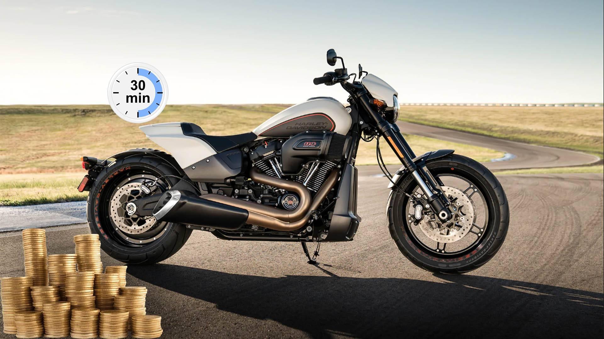 кредит под залог мотоцикла